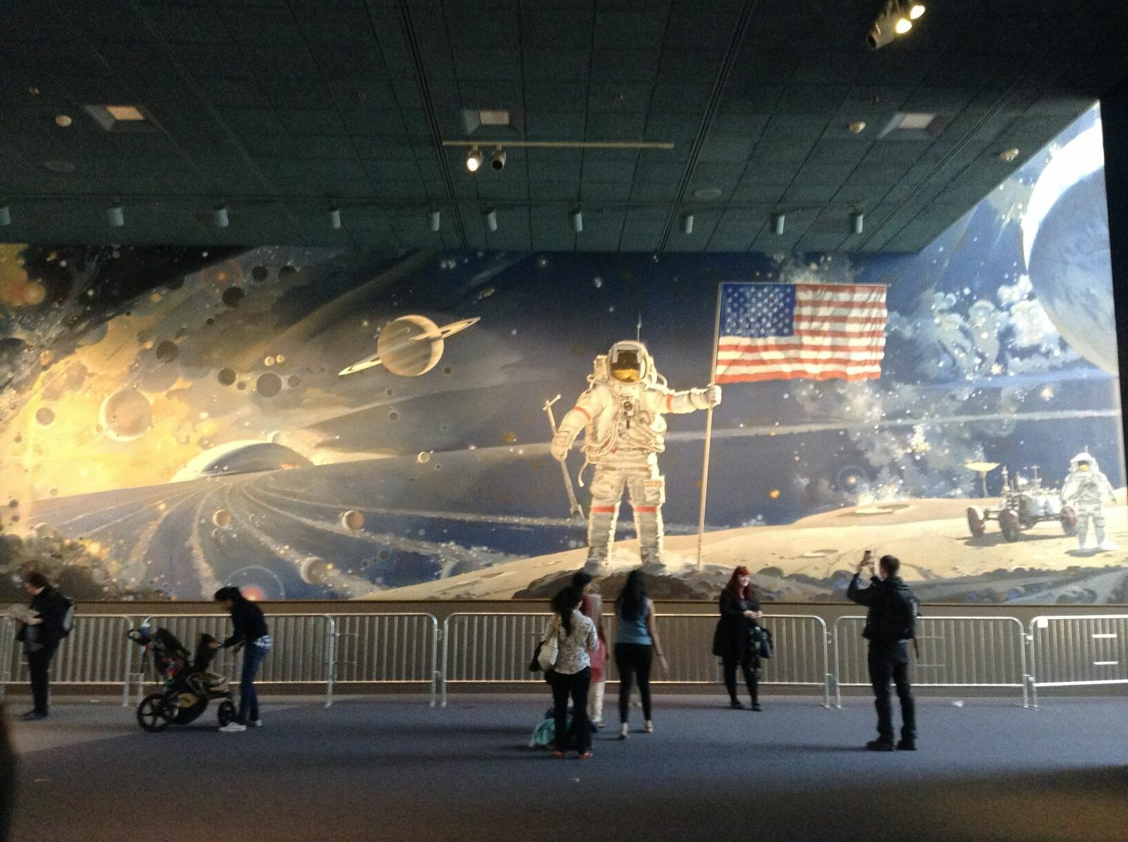 Space and Aeronautics Museum Mural